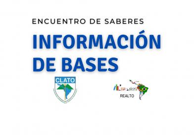Bases de trabajos de Comité Académico para Encuentro de Saberes