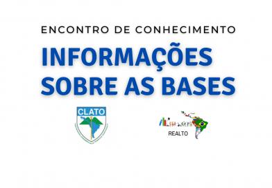 Base de trabalho do Comitê Acadêmico do Encontro de Conhecimento